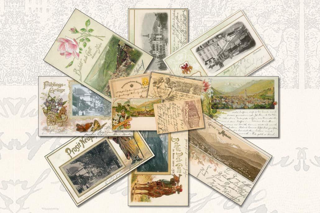Cartoline storiche di Merano